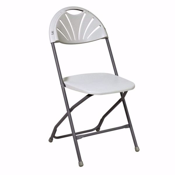 Picture of Slated back 4 Pack Plastic Chair *D