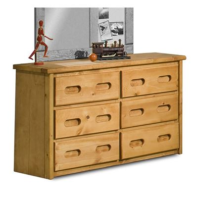Picture of Bunkhouse 6 Drawer Dresser