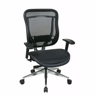 Picture of Black Mesh Office Chair 818A-11P9C1A8 *D