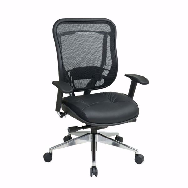 Picture of Black Mesh Office Chair 818A-41P9C1A8 *D