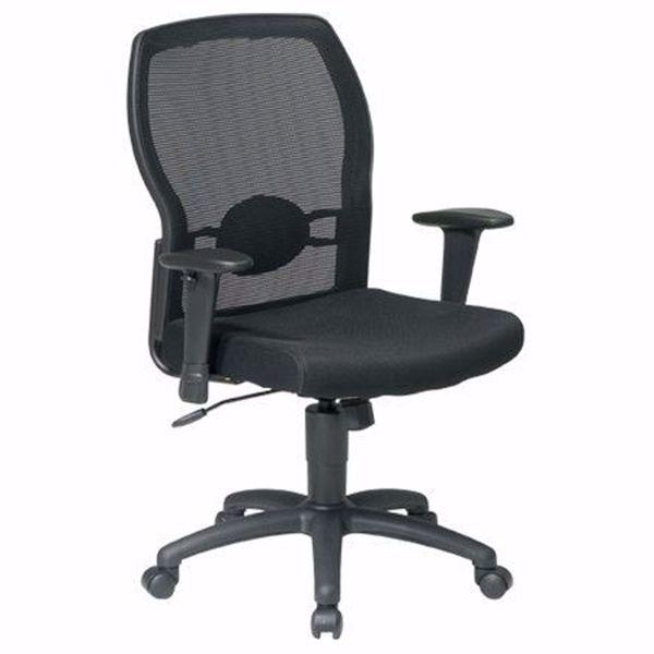 Picture of Black Mesh Office Chair 599302 *D