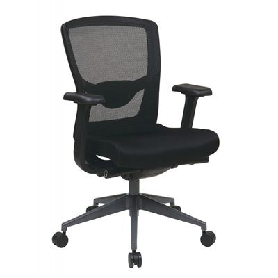 Picture of Black Progrid Office Chair *D