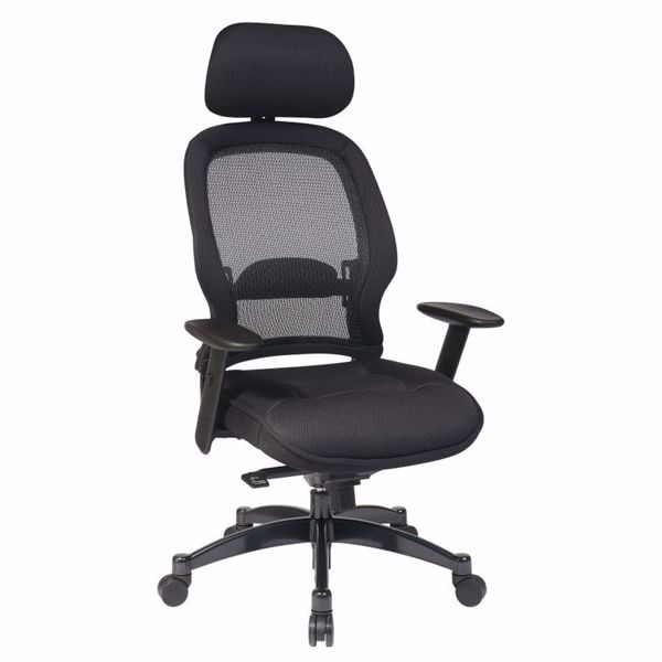Picture of Black Mesh Office Chair 25004 *D