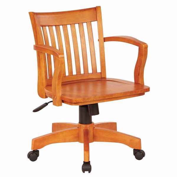 Picture of Fruit Wood Office Chair 105FW *D
