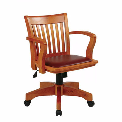 Picture of Fruit Wood Office Chair 108FW-1 *D