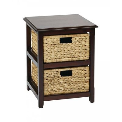 Picture of Espresso Seabrook 2-Tier Storage *D