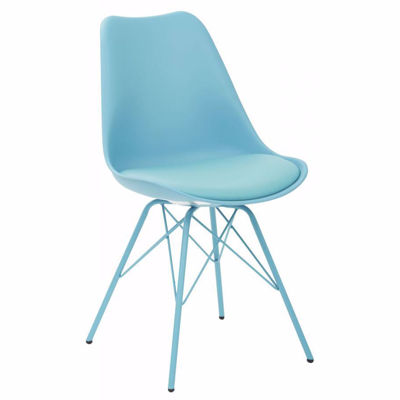 Picture of Emerson Student Side Chair W/4 Leg base Teal *D