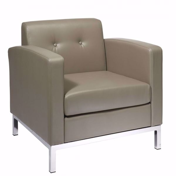 Picture of Wallstreet Smoke Arm Chair *D