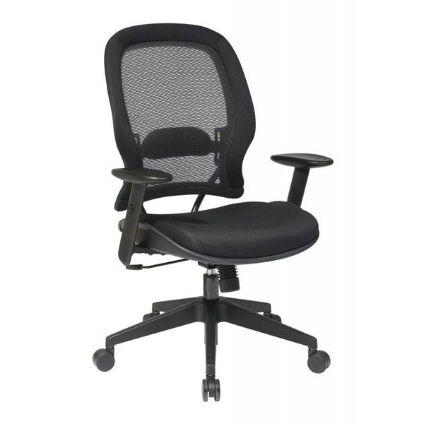 Picture of Black AirGrid Office Chair 5540 *D
