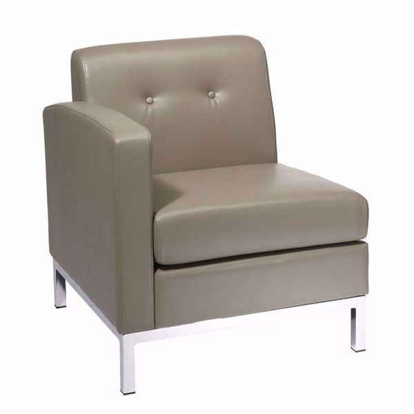 Picture of Wallstreet Smoke Arm Chair Laf *D