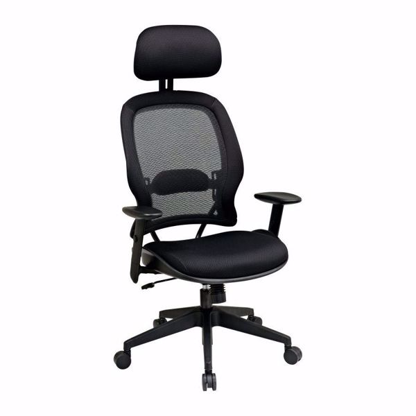 Picture of Black AirGrid Office Chair 55403 *D
