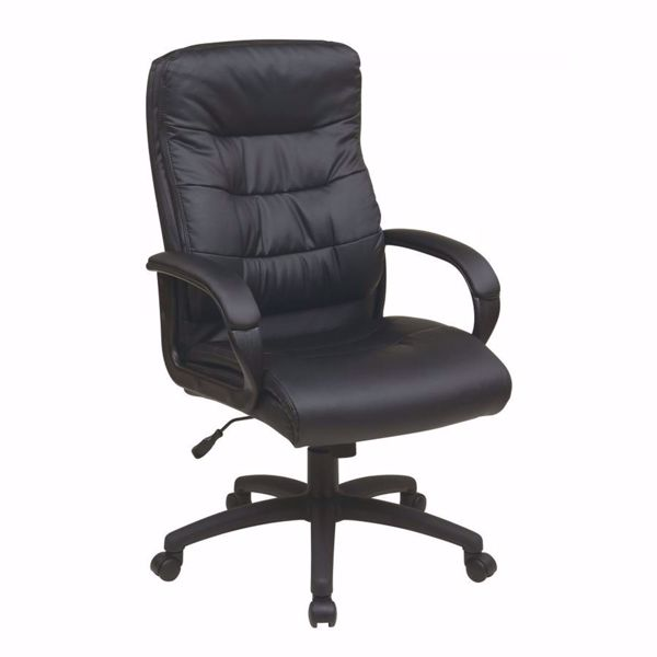 Picture of High Back Faux Leather Exec Chair *D
