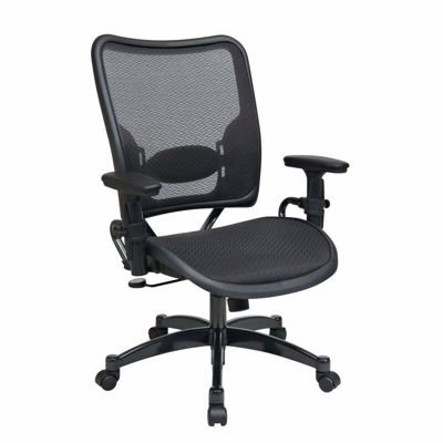 Picture of Black AirGrid Office Chair 6216 *D