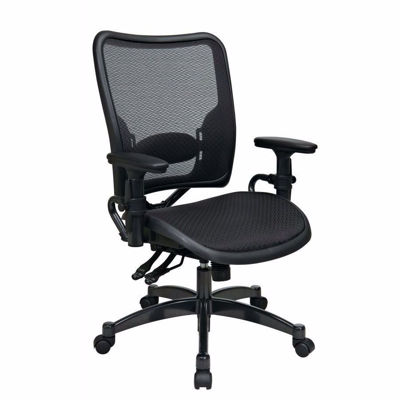 Picture of Black AirGrid Office Chair 6236 *D