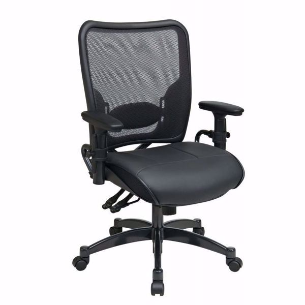 Picture of Black AirGrid Office Chair 6876 *D