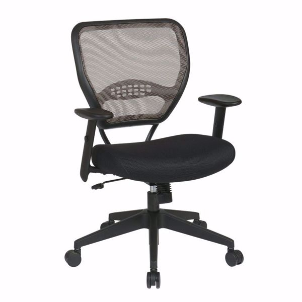 Picture of Latte Black AirGrid Office Chair 55-38N17 *D