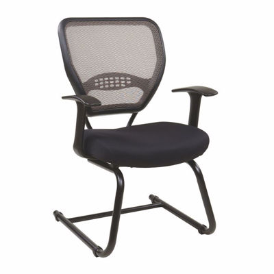Picture of Latte Black AirGrid Office Chair 55-38V30 *D