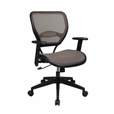 Picture of Latte Black AirGrid Office Chair 55-88N15 *D