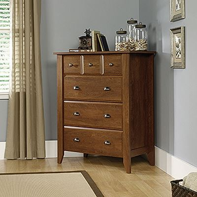 Picture of Shoal Creek 4-Drawer Chest Oiled Oak * D