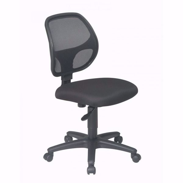 Picture of Mesh Screen Back Task Chair with Fabric Seat *D