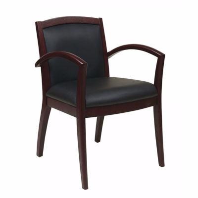 Picture of Napa Mahogany Office Chair NAP97MAH-EC3 *D