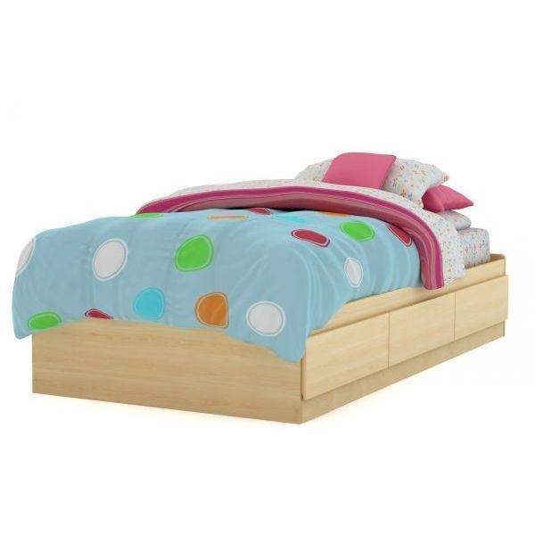 Picture of Step One Twin Mates Bed *D