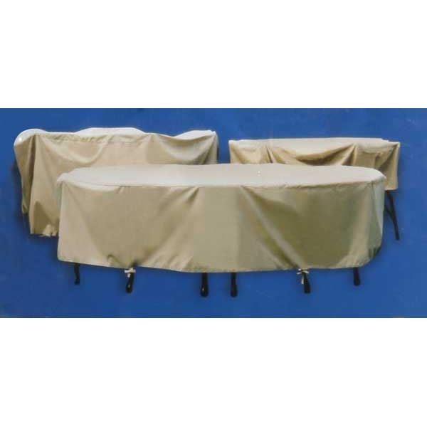 """Picture of 54"""" Table and Chairs Cover"""