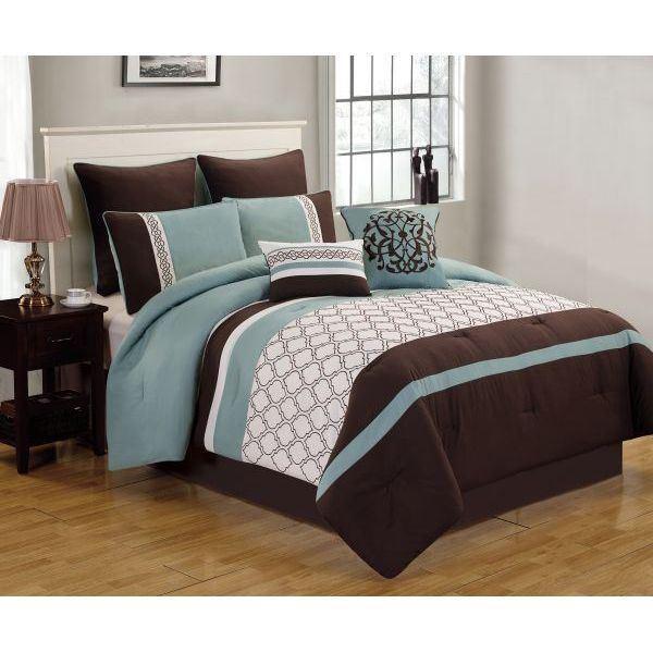 Picture of Teagan 8pc Queen Comforter Set