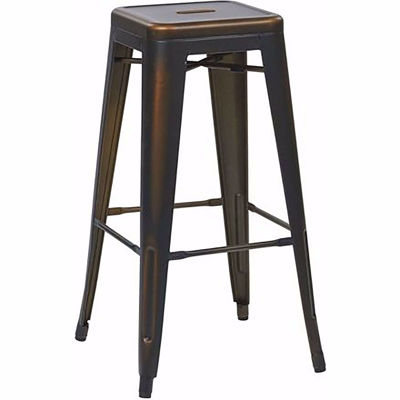 Picture of Bristow Ant Copper Barstool 2 Pack *D