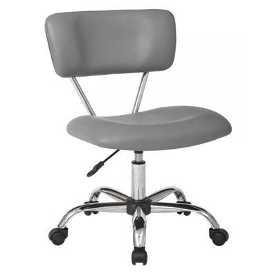 Picture of Vista Grey Vinyl Office Chair *D