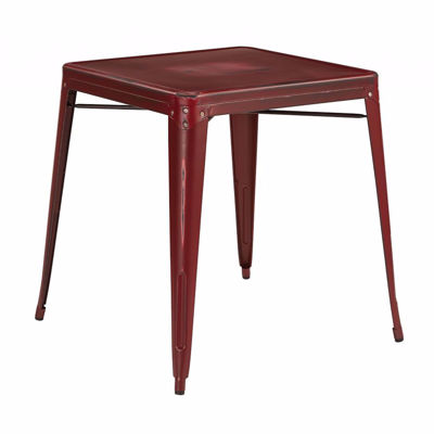 Picture of Bristow Red Metal Table *D