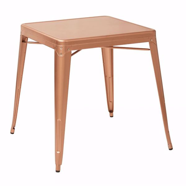 Picture of Bristow Copper Metal Table *D