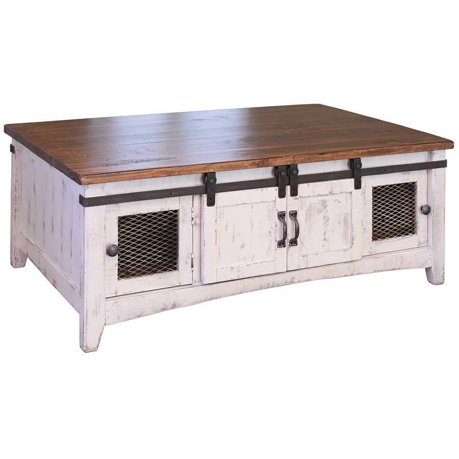 Picture of Pueblo White Cocktail Table
