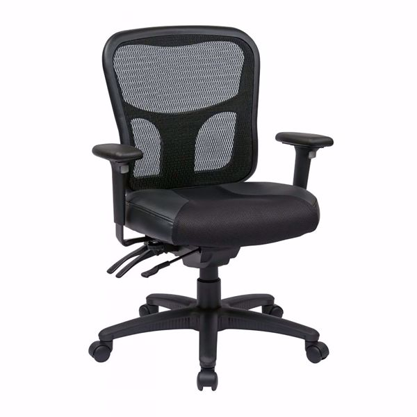 Picture of Progrid Leather Office Chair *D