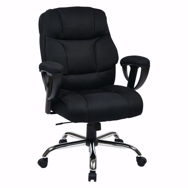 Picture of Exec Big Mans Chair with Mesh Seat and Back *D