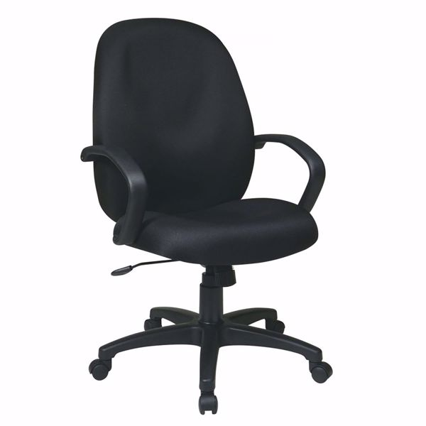 Picture of Exec High Back Managers Chair with Fabric Back *D