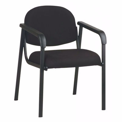 Picture of Designer Plastic Visitor Chair with Shell Back *D