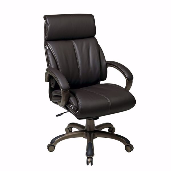 Picture of Exec Espresso Bonded Leather Chair ECH68801-EC1 *D