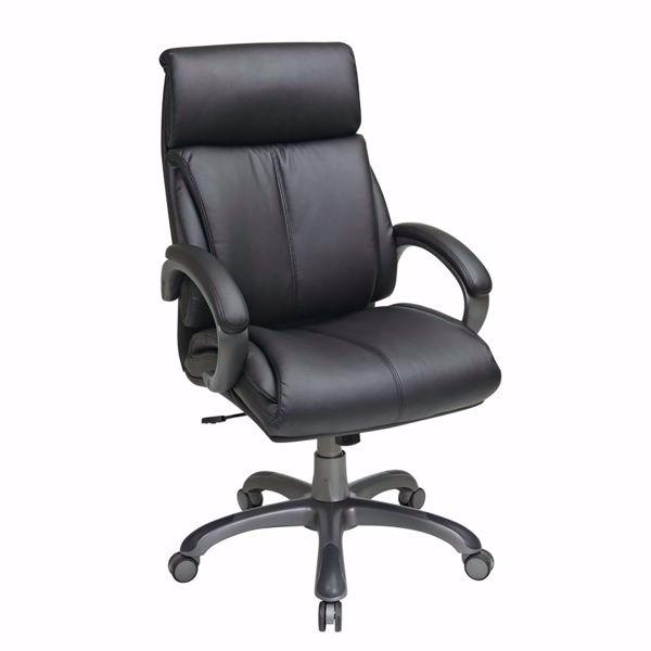 Picture of Exec Black Bonded Leather Chair ECH68807-EC3 *D