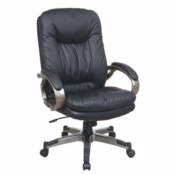 Picture of Exec Black Bonded Leather Chair ECH83507-EC3 *D
