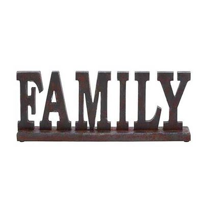 Picture of Family Wood Table Decor