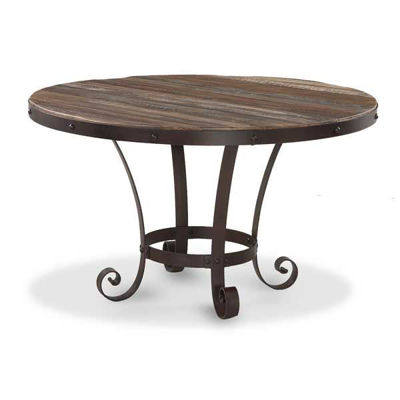Picture of Antique Round Dining Table