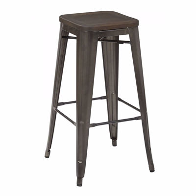 Picture of Gunmetal Indio 30-Inch Stool 4Pack *D
