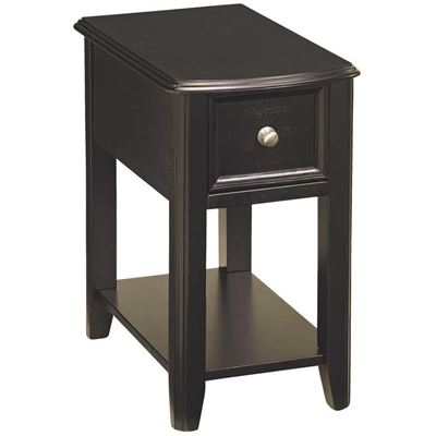Picture of Breegin Black Chairside End Table