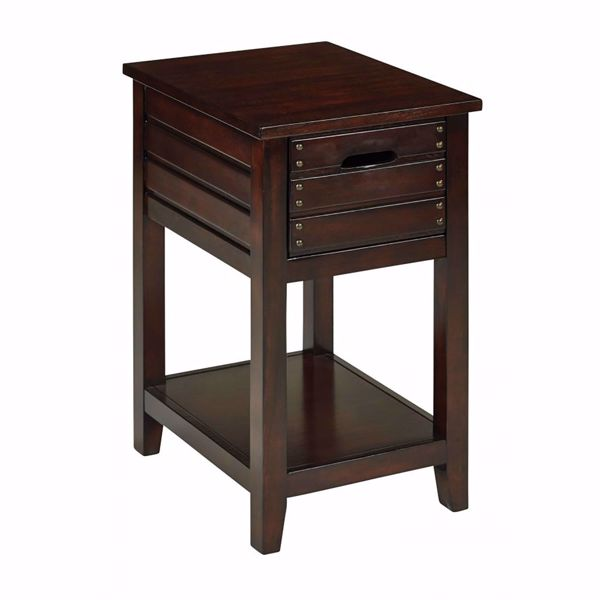 Picture of Camille Walnut Side Table *D