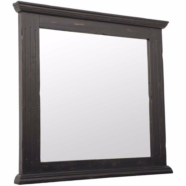 Picture of Black Isabella Mirror