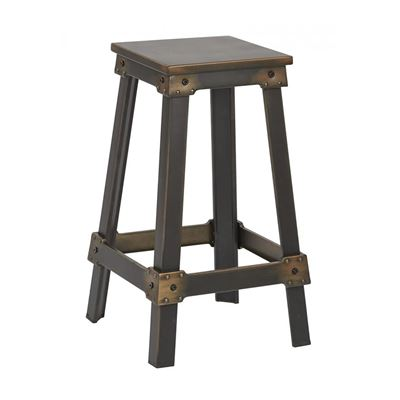 Picture of Copper Newcastle 26in Mtl Stool *D
