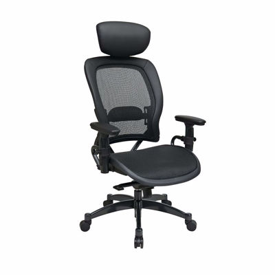Picture of Black Mesh Office Chair 27876 *D