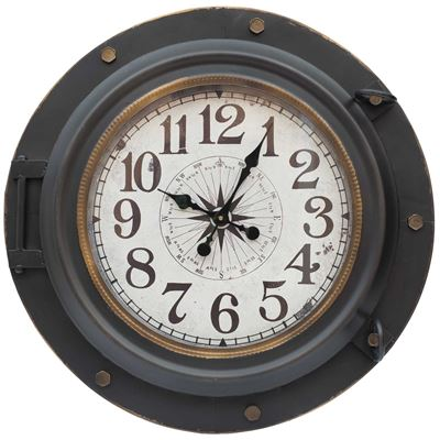 Picture of Industrial Metal Wall Clock