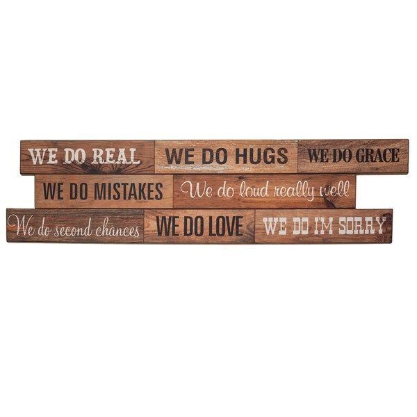 Picture of We Do Real Wall Sign